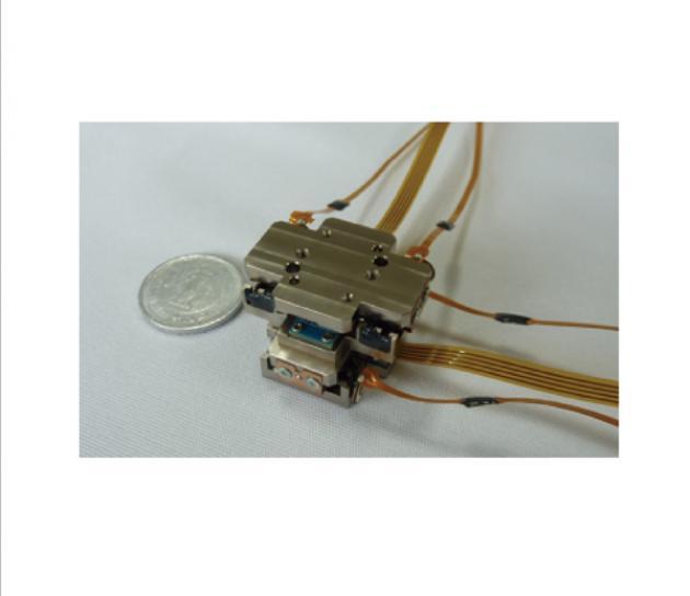 超小型超音波線性平台 - XY軸平台 1